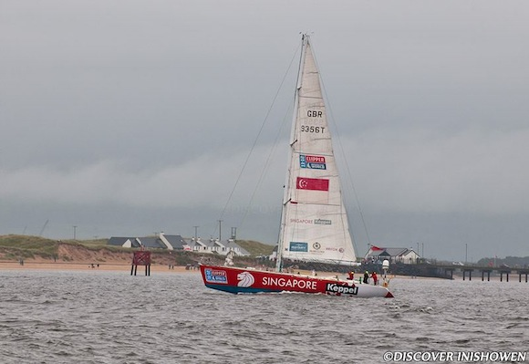 CLIPPER RACE STOYCHO DANEV DISCOVER INISHOWEN