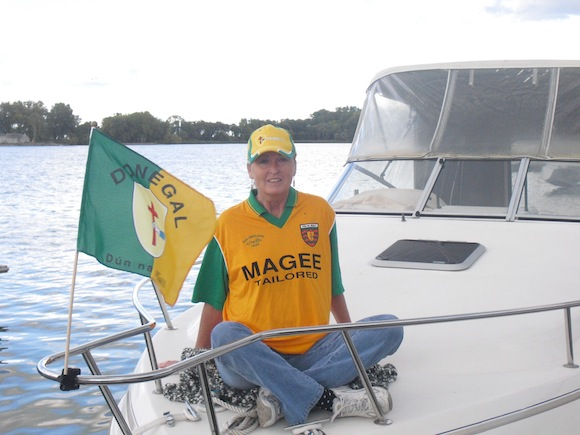 Well done to Donegal from the shores of Lake Ontario, Webster NY from the Doherty's.   Thanks   Esther Doherty