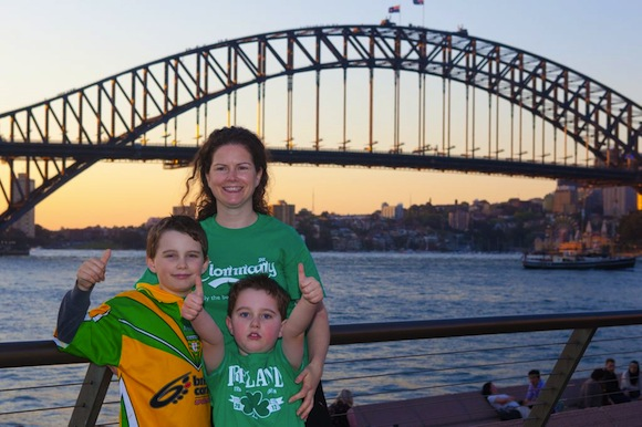 Congratulations to Donegal from Down Under