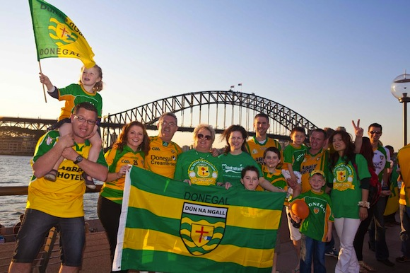 """Thanks Jim, Rory and the team. You made our year here in Sydney. Proud to be from Donegal"""