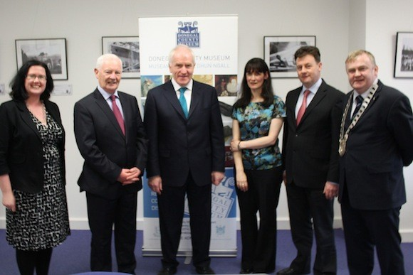 Minister Deenihan visit to County Museum