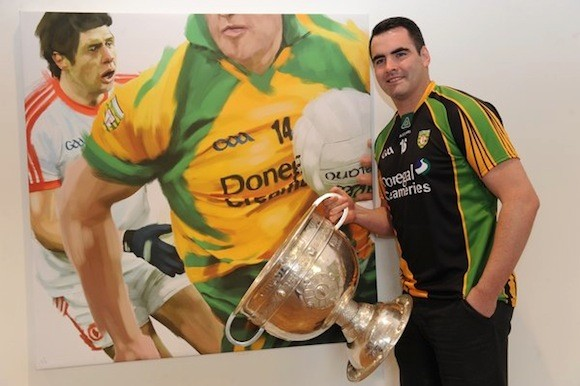 Paul Durcan pictured at 2013 Launch of Ulster Championships for Football and Hurling at Ulster Museum, Botanic Gardens