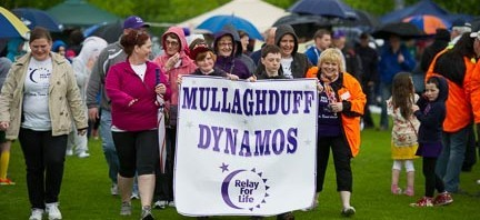 Relay for Life Opening Ceremony.  Photo:- Clive Wasson