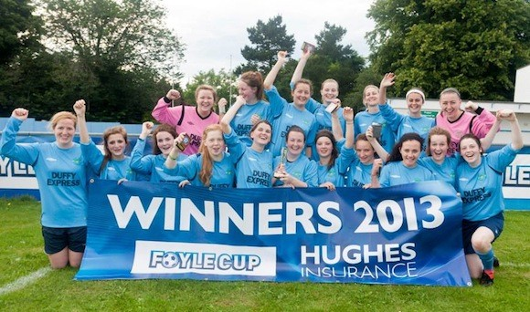 Lagan Harps ladies retained the Donegal Women's League after defeat Fanad United 4-1.