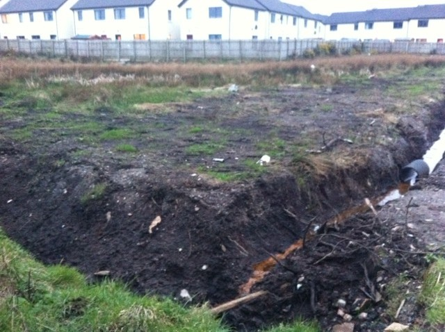 Residents say children's lives at risk because of estate sewerage ...