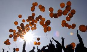 Students are hoping to fill the sky around Letterkenny with balloons.