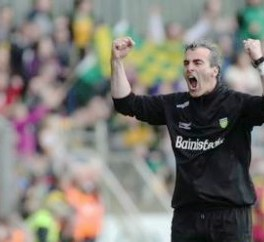 Jim in action for Donegal!