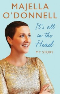 Majella's book 'It's All In The Head.'