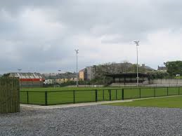 Officials at Maginn Park have deemed the pitch unplayable.