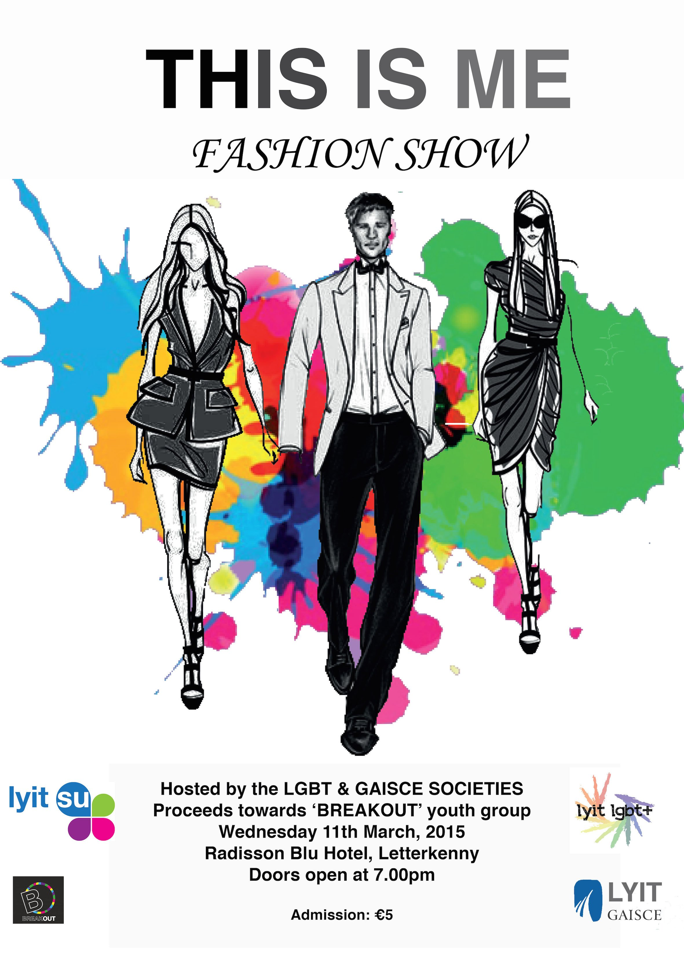 Lgbt Fashion Show Poster 2 Donegal Daily