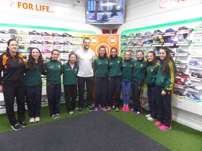 Michael Murphy with the Donegal U14 Championship team