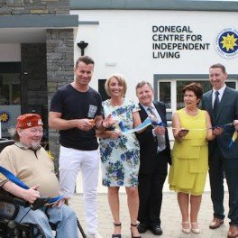IRELAND STAR SHAY OFFICIALLY OPENS DONEGAL INDEPENDENT LIVING CENTRE