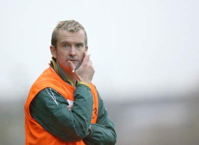 Gary McDaid has quit the Donegal management team.
