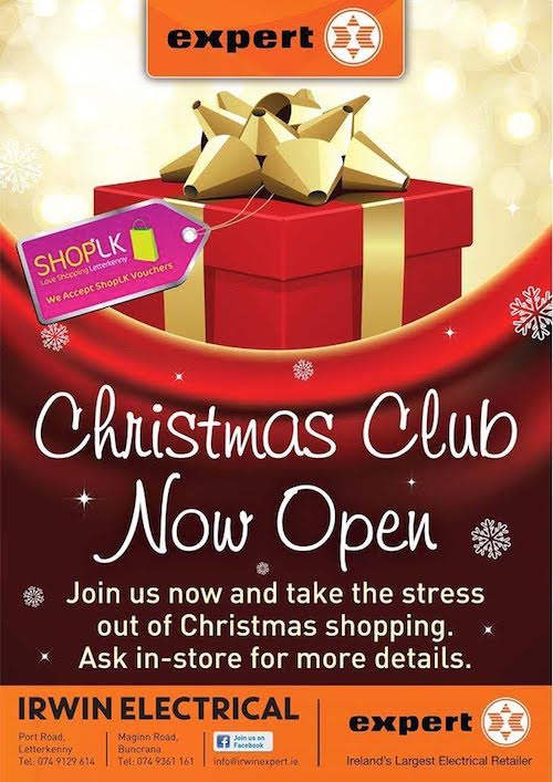 a christmas club account with irwin expert electrical is a great way to ease festive financial pressures - Christmas Club Account