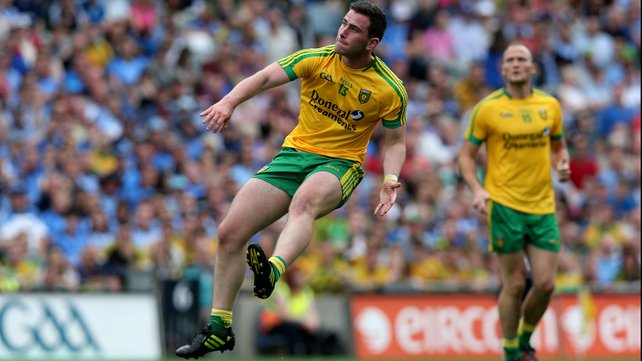 Patrick McBrearty landed a peach for UUJ in their win over St Mary's.
