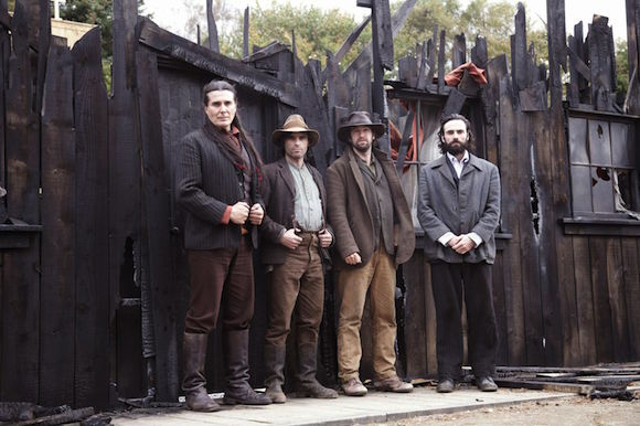 Julian Black Antelope, Dara Devanney, Owen mc Donnell, Sean T O'Meallaigh star in An Klondike.