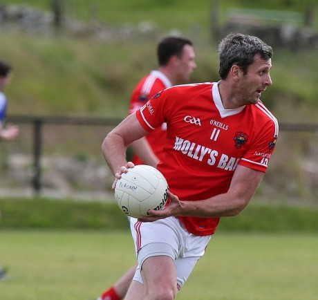 Christy Toye wgo helped St Michael's beat Ardara, scoring 1-3 of 1-9.