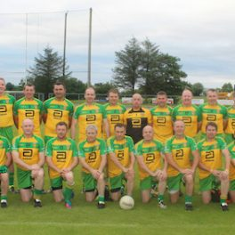The Donegal Masters team
