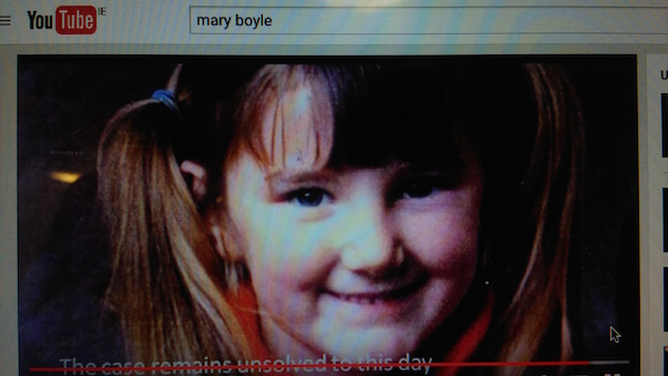 A You Tube documentary on missing Mary Boyle has been reinstated onto the channel after a legal threat.