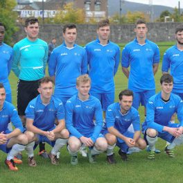 The LYIT Soccer team that won in IT Tallaght by 1-0 on Tuesday.  A goal in the 43rd minute scores by Ryan Connolly proved to be the decider in the CUFL Division game.