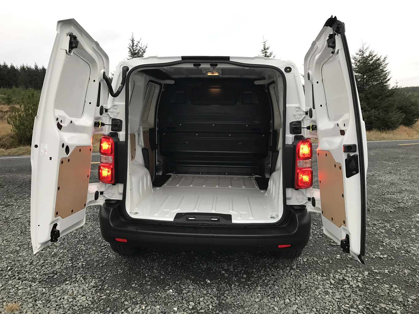 A view of the cargo area for the new Toyota Proace which we drove this week. Photo Brian McDaid
