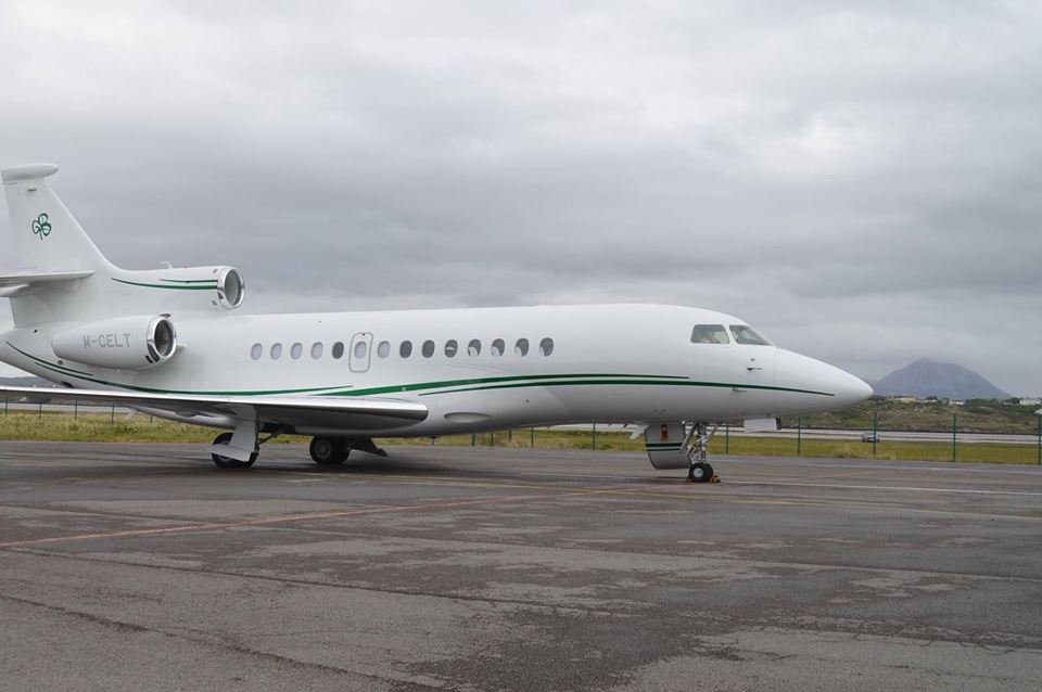 Billionaire Celtic Owner Desmond Touches Down In Donegal On Private Jet  Don