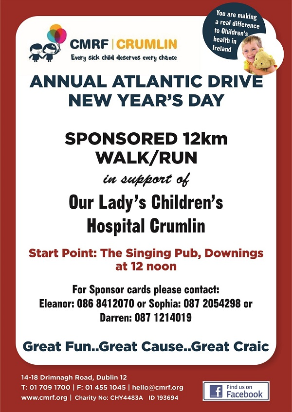 Kick-start 2018 with this scenic walk in aid of Crumlin Children's ...