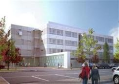 The new wing at Letterkenny General Hospital