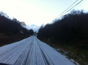 falcarragh in the snow - copyright donegaldaily.com