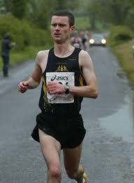 Ivan Toner, winner of the Newmills 5K.