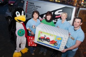 Percy with Donegal County Childcare Committee last year. Pic Clive Wasson