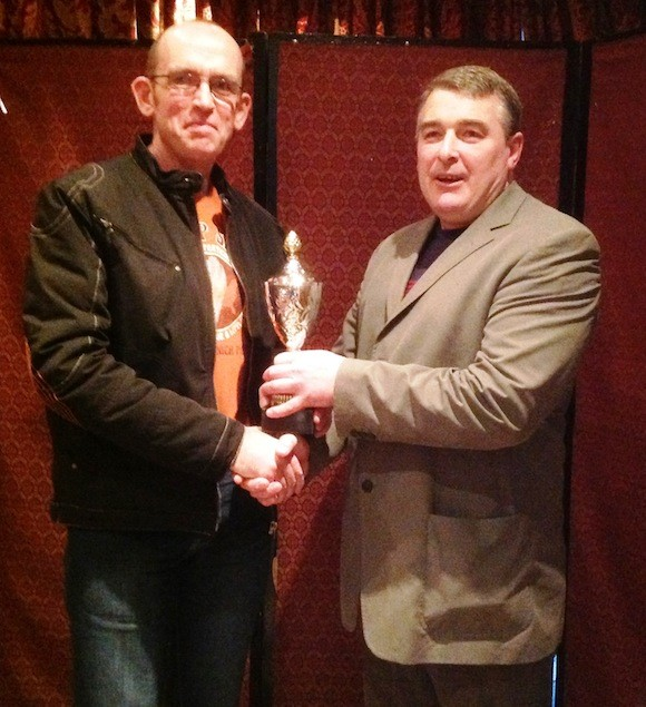 Kevin Mc Glynn receives award