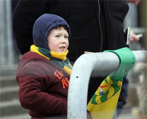 Fans in all weathers! www.donegaldaily.com