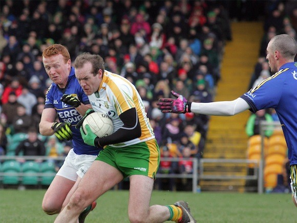 Battling all the way in Ballybofey www.donegaldaily.com