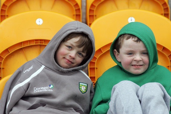 Enjoying Donegal's victory www.donegaldaily.com