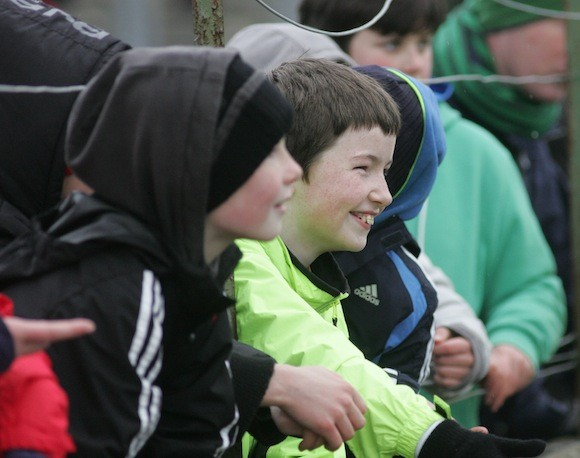 All smiles in Ballybofey www.donegaldaily.com