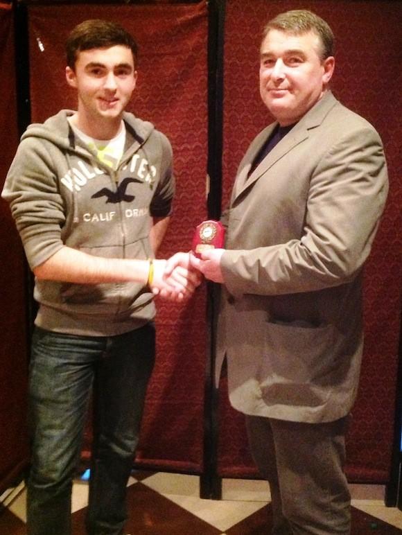 Endurance Boy Mark McGuiness receives award