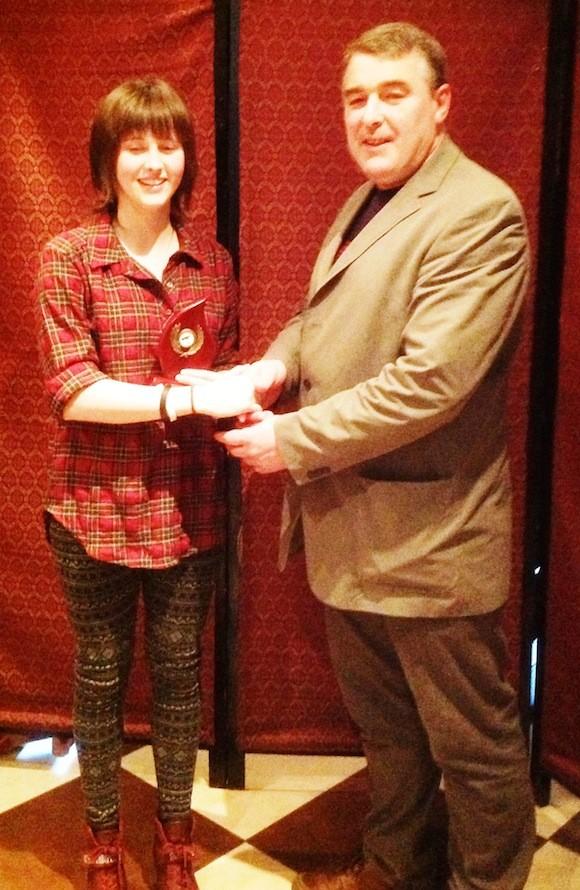 National Medal Winner Katie Hoad