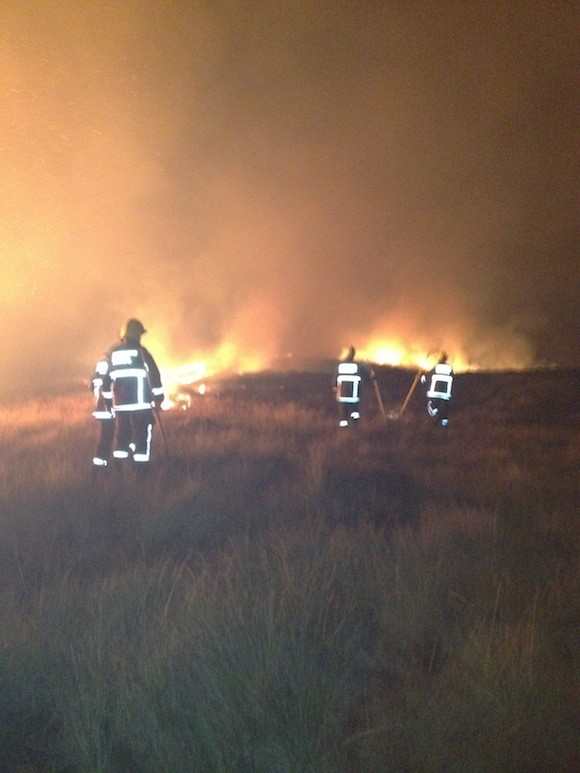 Glenties and Dungloe fire crews tackle a blaze at 4am in Doochary