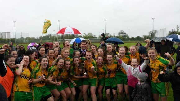 Ulster Champions! The Donegal Minor Ladies