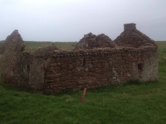 The ruined cottage on Gola Island