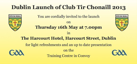 Club Tir Chonaill Invite Dublin copy