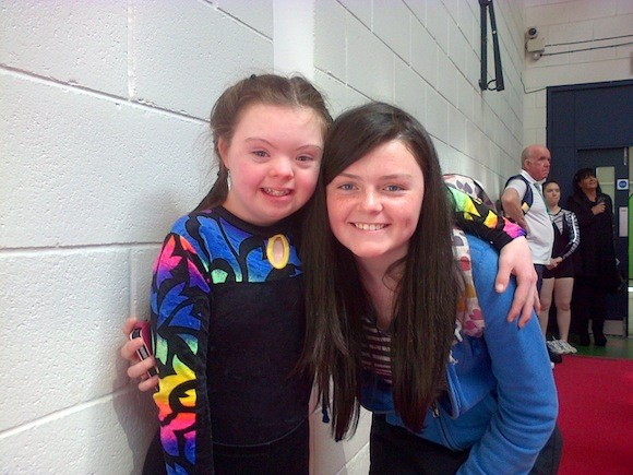 Meg and Proud Sister Nell!