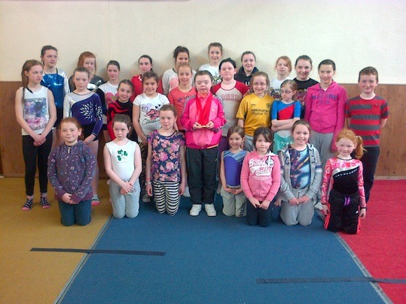 Meg And Patrick Pick Up Gymnastic Gold Donegal Daily