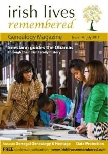 The latest edition of Irish Genealogy magazine