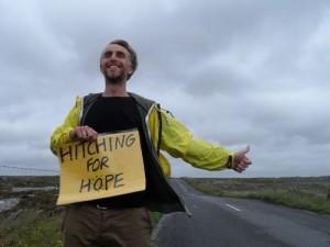 Ruairi is on his way to Glenties!