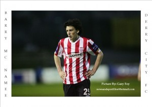 Barry McNamee has penned a new two-year deal with Derry City.