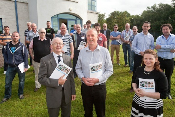 Donegal's Shellfish Producers who came out in force to consider the potential of the Donegal Food Strategy to their sector.