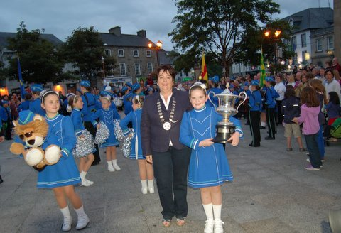 Donegal Town Mayor Patricia Callaghan and Katlyn Duffy