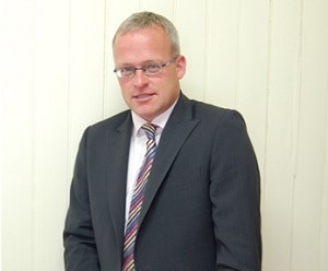 Well-known estate agent Keith Anderson had money taken from his account.